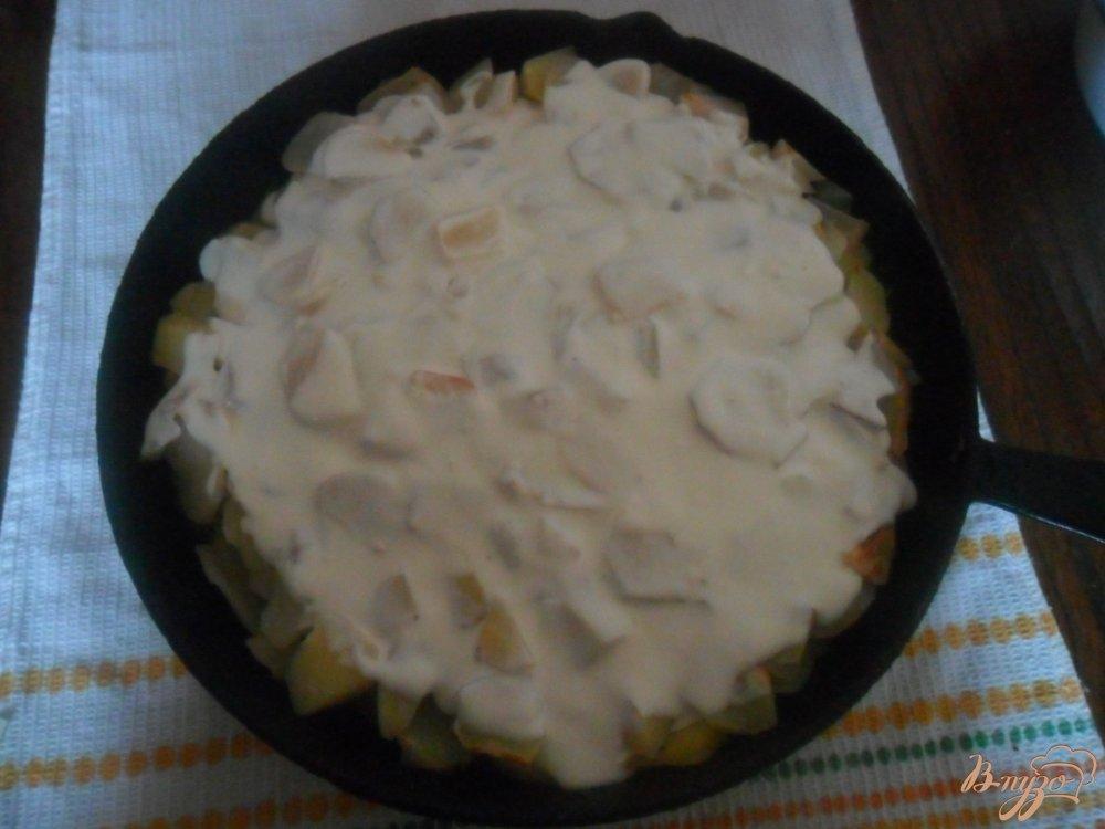 картошка с мясом запеченная в духовке фото рецепты
