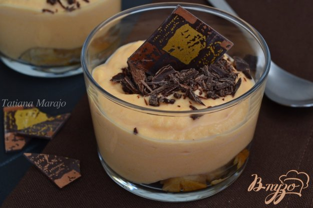 фото рецепта: Десерт с  тыквенным кремом