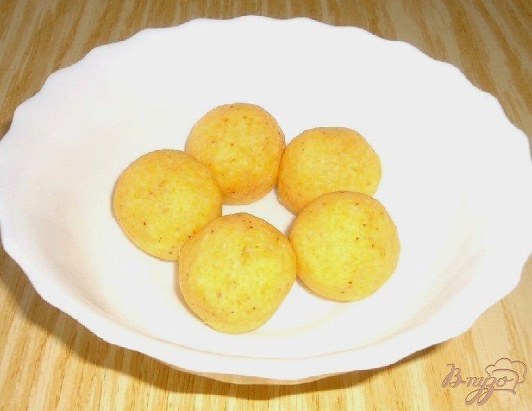 Фото приготовление рецепта: Кукурузные тарталетки с паштетом из крабовых палочек шаг №4