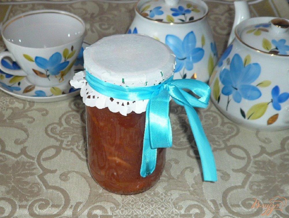 Фото приготовление рецепта: Яблочное варенье на зиму шаг №6
