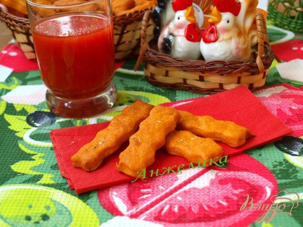 Рецепт Постное печенье на томатном соке