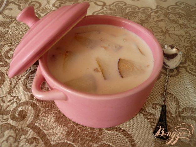Рецепт Желе из ряженки со свежими персиками