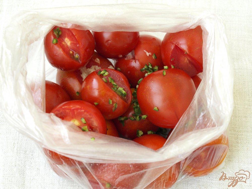 Малосольные помидоры в пакете рецепт с фото пошагово