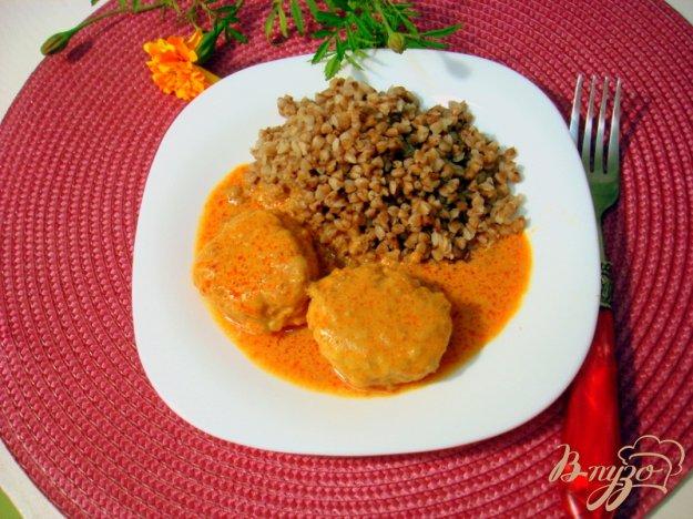 Рецепт Тефтели под томатно-сметанным соусом