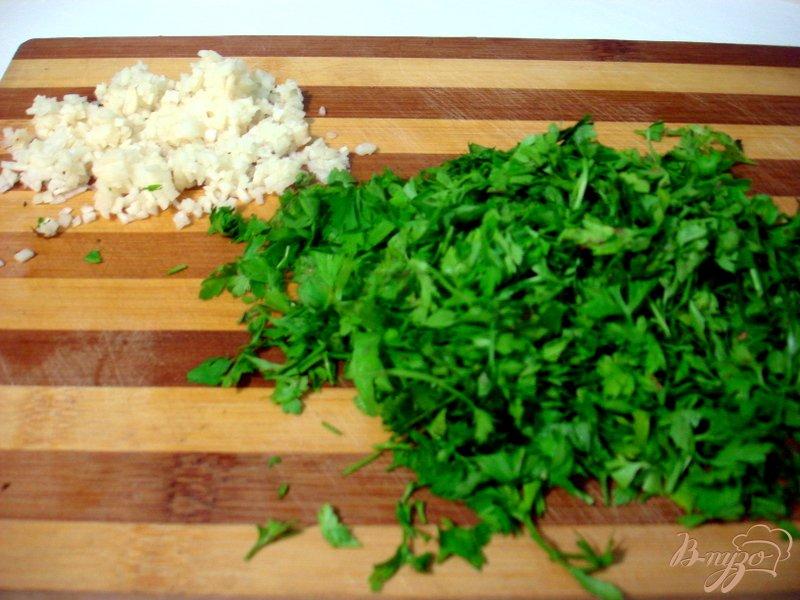 Фото приготовление рецепта: Восточная баклажанная икра шаг №9
