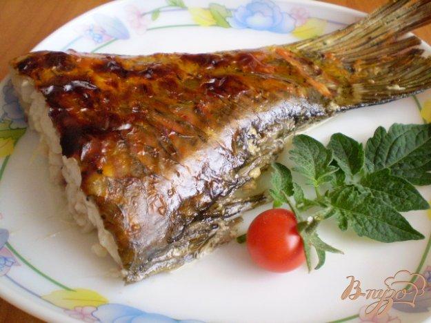 Рецепт Карп запеченный в сметане и специях