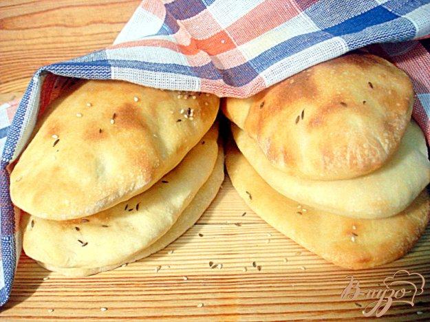 Рецепт Индийские хлебные лепёшки наан