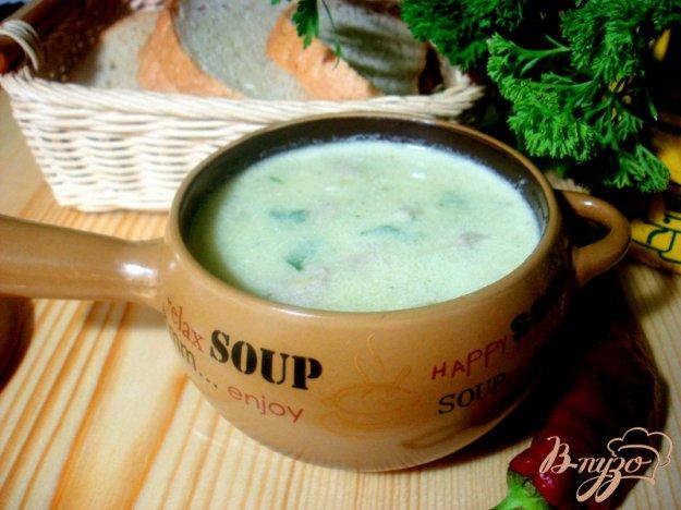 фото рецепта: Суп пюре из цукини с фрикадельками