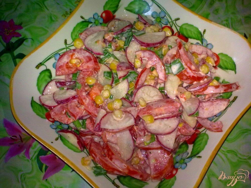 Салаты овощные рецепт очень вкусный