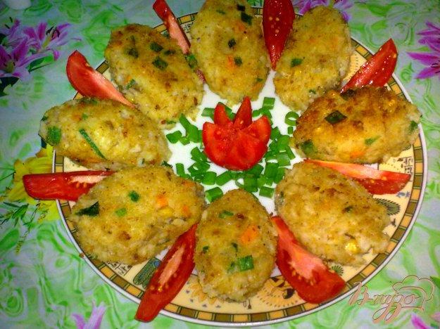 Рецепт Рисовые котлеты с грибами