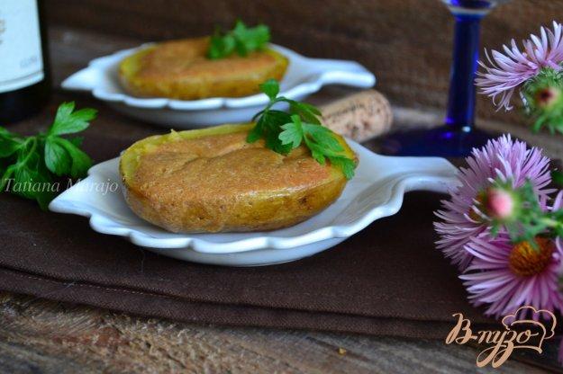Рецепт Картофель с гусиным паштетом