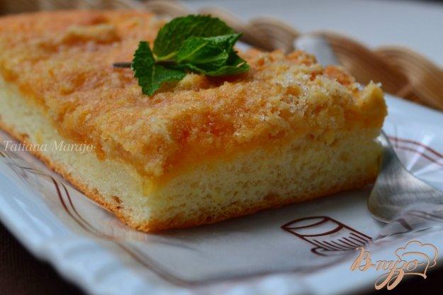 Рецепт Сдобный пирог с вареньем из дыни