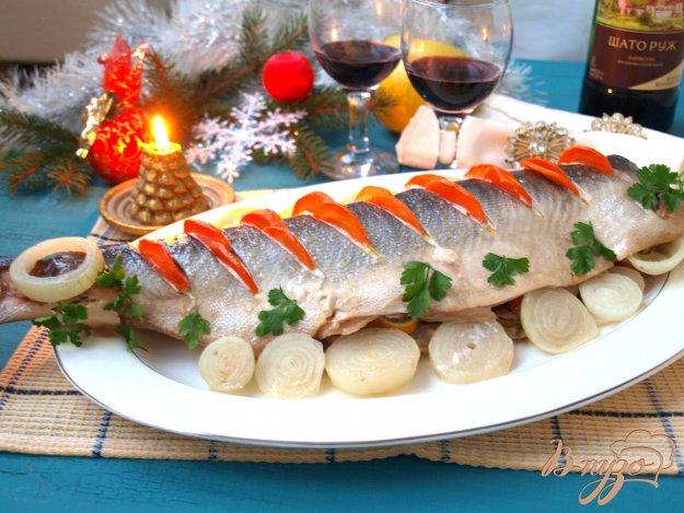 горбуша, Запечена з овочами. Як приготувати з фото