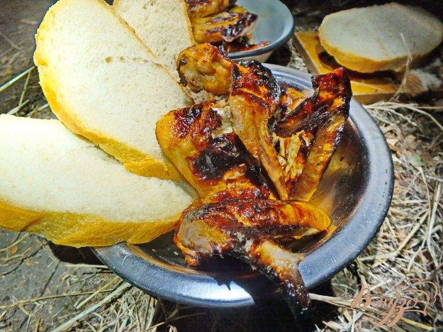 Рецепт Острые куриные крылья на мангале