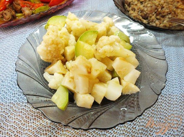 Рецепт Теплый салат с корнем сельдерея