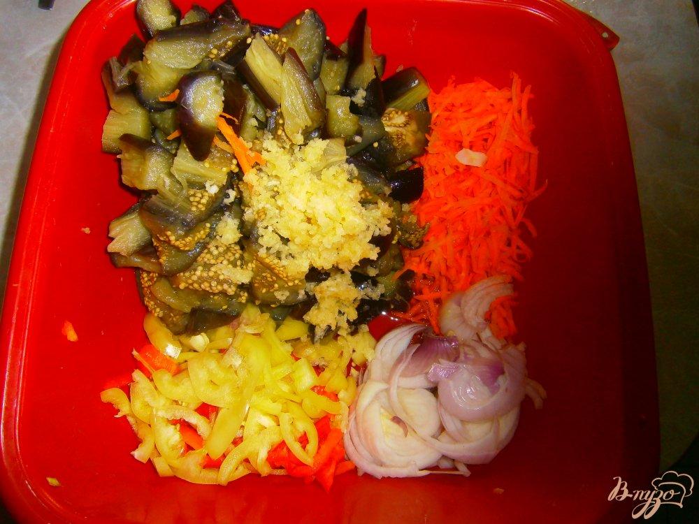 Фото приготовление рецепта: Синие по корейски шаг №3