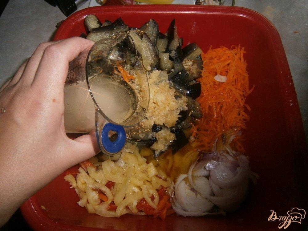 Фото приготовление рецепта: Синие по корейски шаг №5