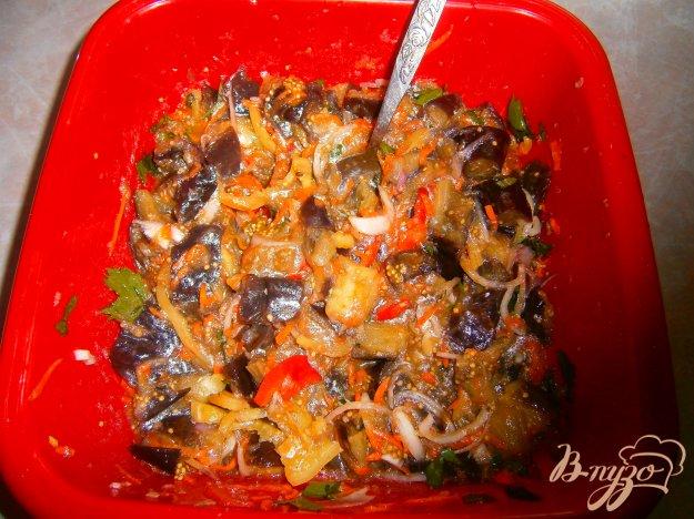 фото рецепта: Синие по корейски