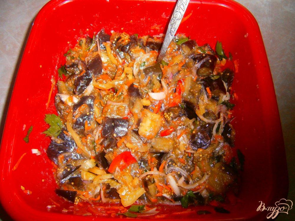 Фото приготовление рецепта: Синие по корейски шаг №6