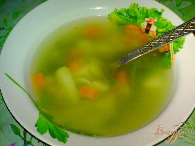 Рецепт Суп с кальмаром