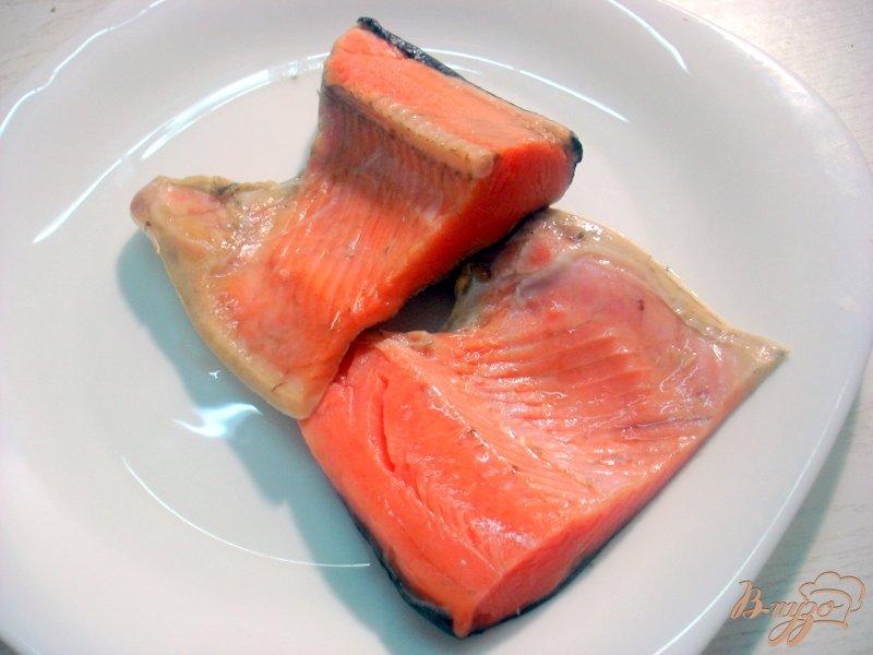 Фото приготовление рецепта: Лосось под горчицей и кленовым сиропом шаг №2