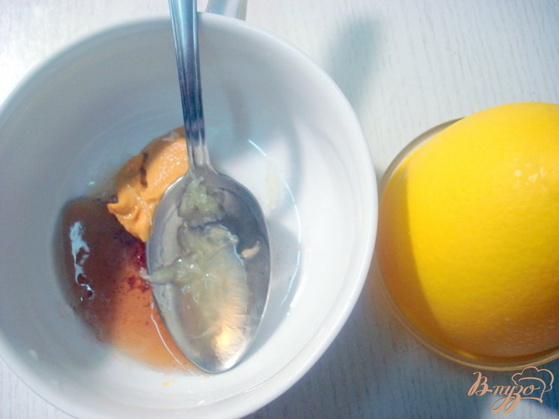 Фото приготовление рецепта: Лосось под горчицей и кленовым сиропом шаг №1