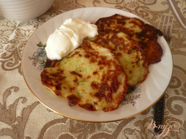 фото рецепта: Картофельно-кабачковые оладьи