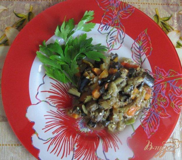 Рецепт Баклажанная икра с лесными грибами