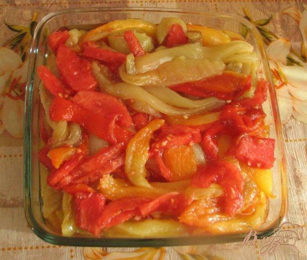 Рецепт Перец печенный по-приморски