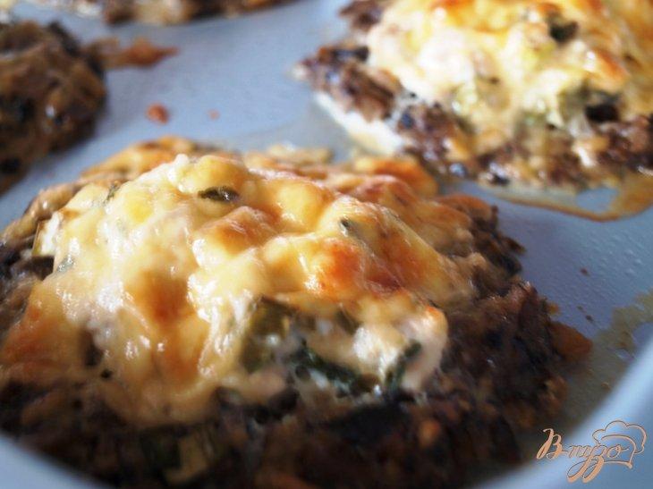 Фото приготовление рецепта: Куриные зразы с грибами