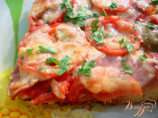 Рецепт Пицца на творожно-кефирном тесте