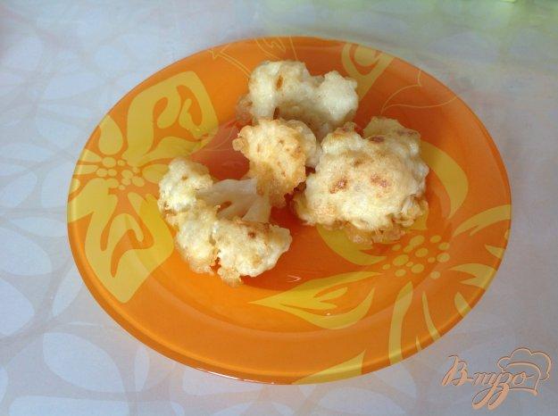 Рецепт Цветная капуста в кляре