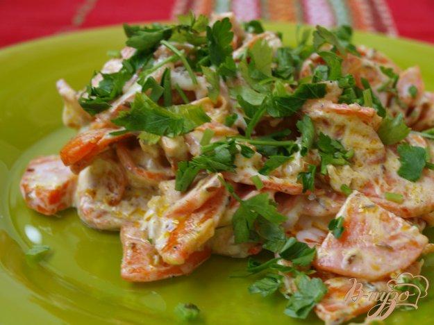 Рецепт Морковный салат с йогуртовой заправкой по-турецки