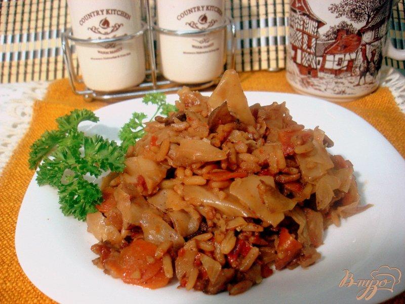 Фото приготовление рецепта: Лаханоризо шаг №12