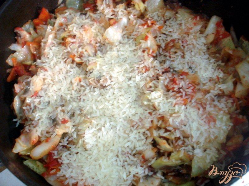 Фото приготовление рецепта: Лаханоризо шаг №9