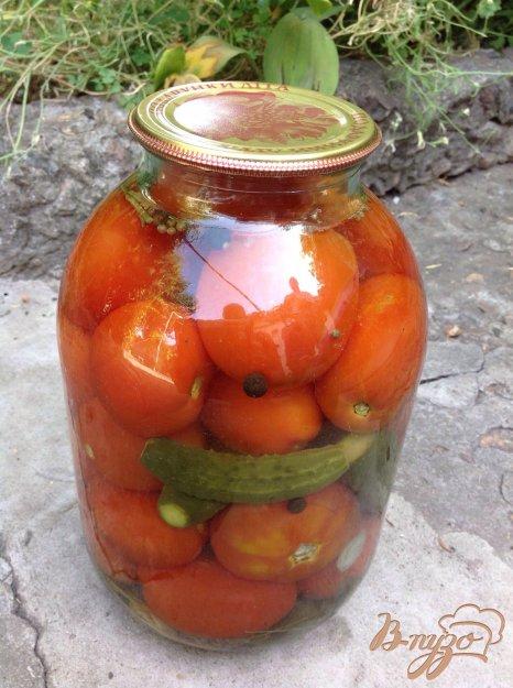 фото рецепта: Консервированные помидоры