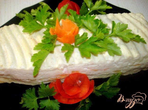 Рецепт Куриное суфле с тыквой и морковью