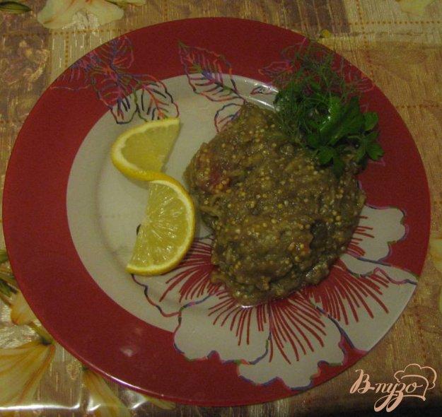 Рецепт Печенная баклажанная икра