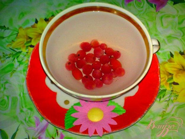 Рецепт Компот из красной смородины с шиповником