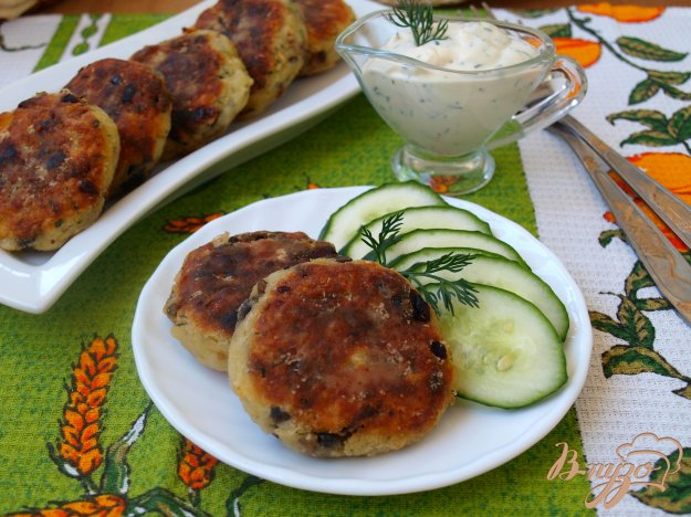 Рецепт Котлеты из картофеля с шампиньонами