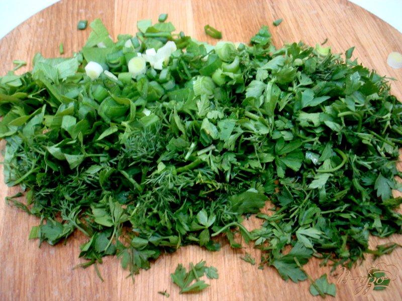 Фото приготовление рецепта: Суп из капусты с сырочками шаг №7