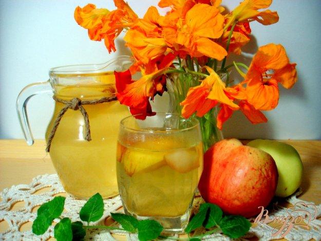 Рецепт Яблочный компот с корицей
