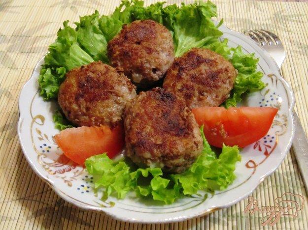 Рецепт Мясные котлеты с добавлением кабачков
