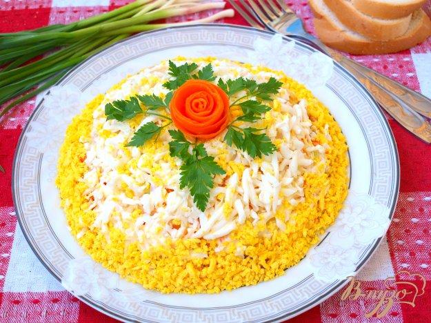 Рецепт Салат с картофелем и курицей