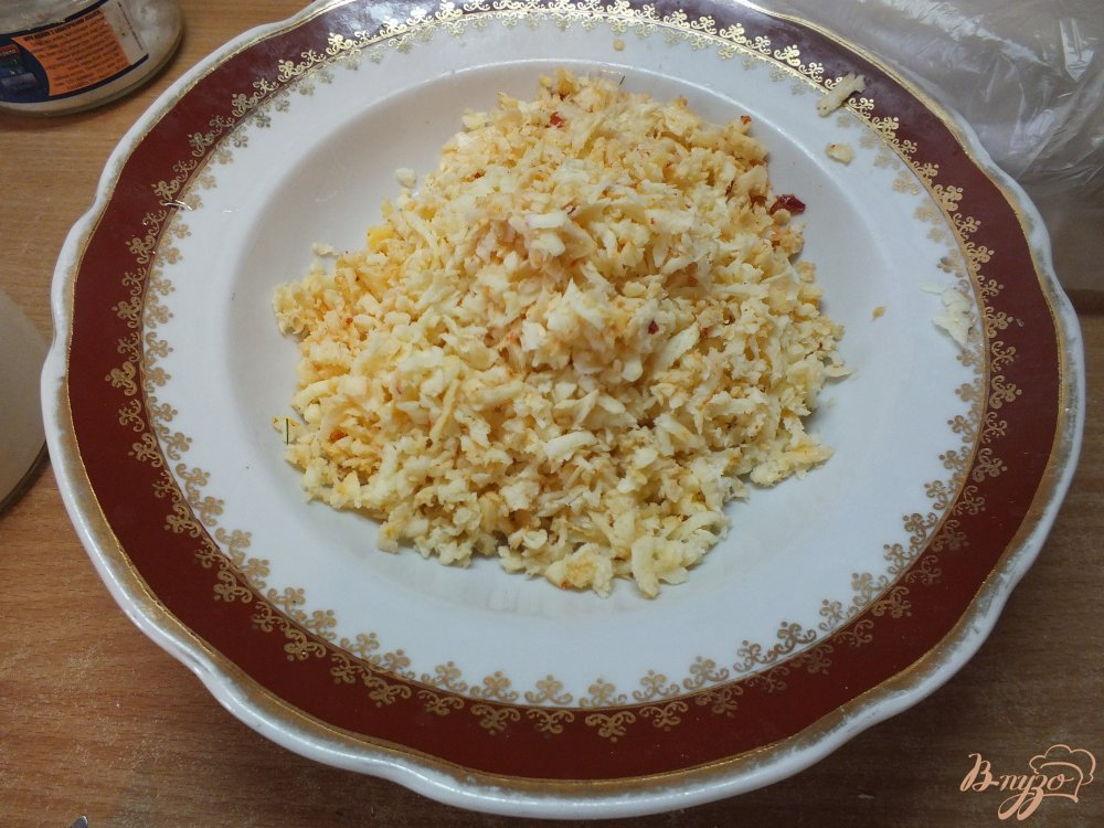 Фото приготовление рецепта: Острые закусочные лаваши шаг №3