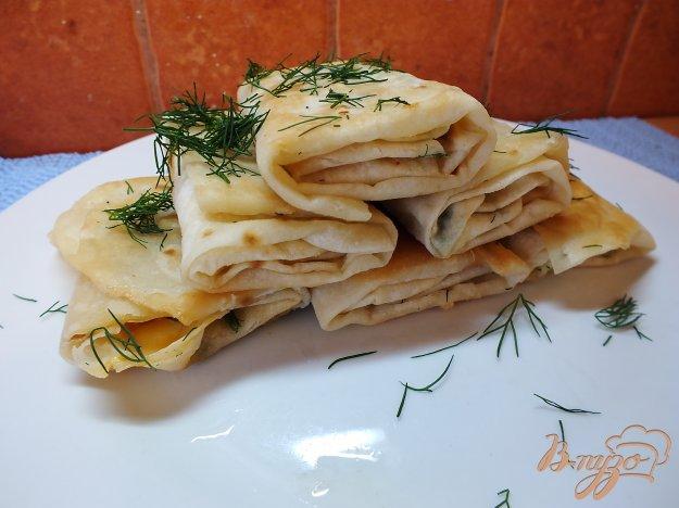 Рецепт Острые закусочные лаваши