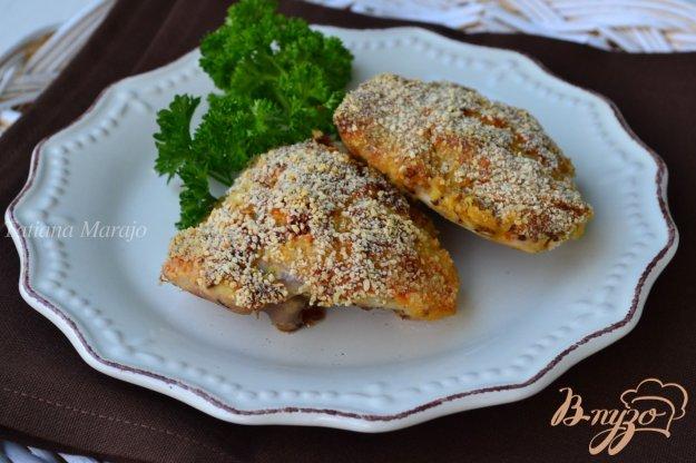 фото рецепта: Куриные бедрышки под горчичной корочкой