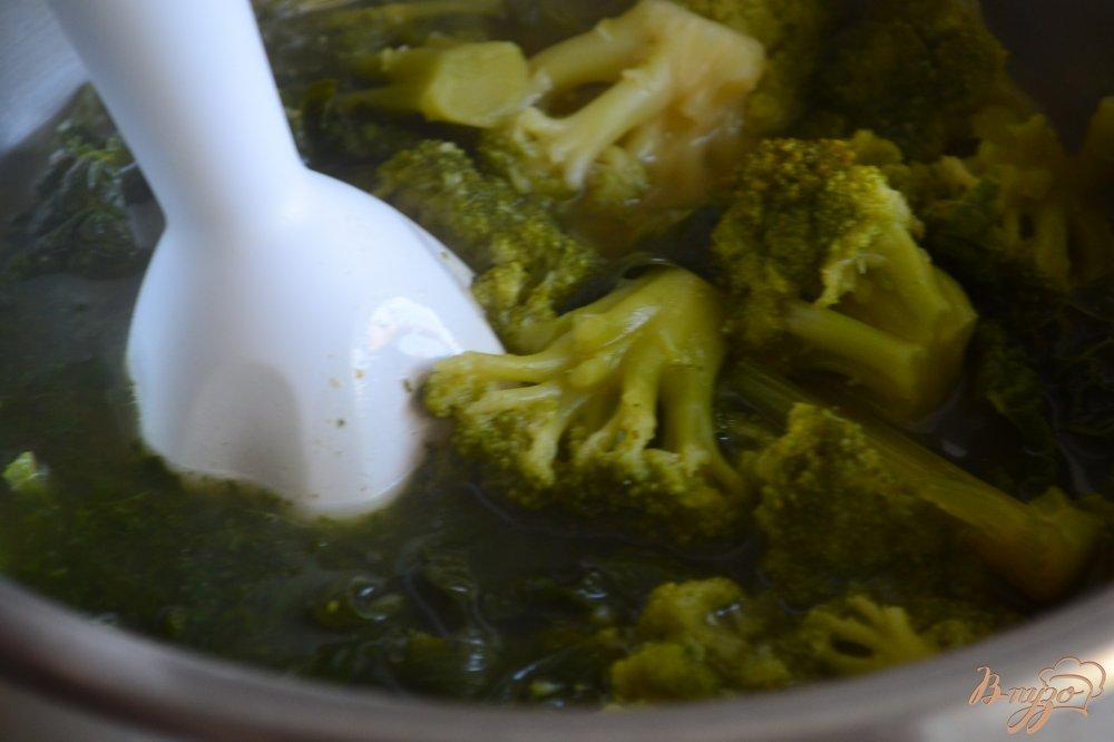 Фото приготовление рецепта: Овощной суп-пюре шаг №3