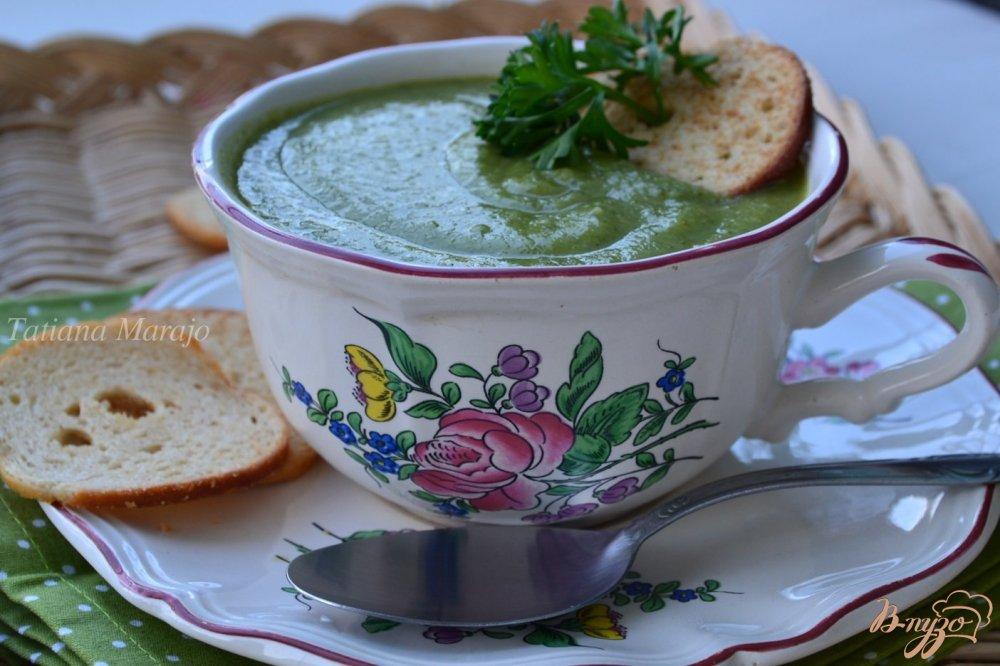 Фото приготовление рецепта: Овощной суп-пюре шаг №5