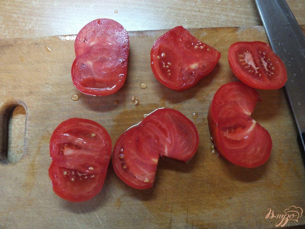 Фото приготовление рецепта: Помидоры запеченные с розмарином и сулугуни шаг №1